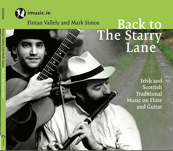 Back to The Starry Lane: Fintan Vallely & Mark Simos cd cover